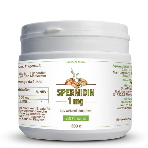 Spermidine 1 mg 300 g Powder