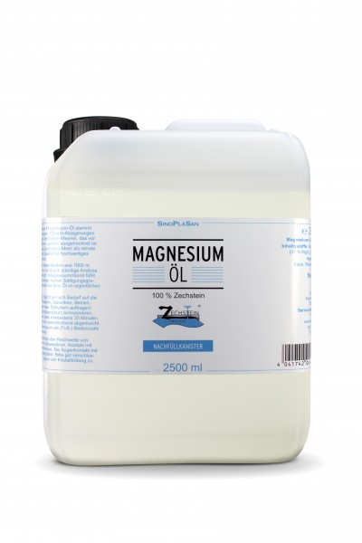 Magnesium Oil 2500 ml refill canister
