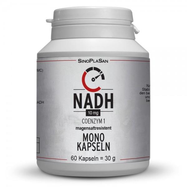 NADH 10mg Mono Kapseln 60 Stk