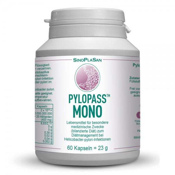 Pylopass MONO 60 Capsules for H. pylori