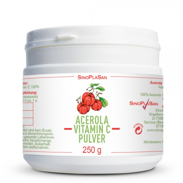 Acerola Vitamin C Powder 100%