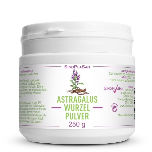 Astragalus Root Powder 250g 100% pure