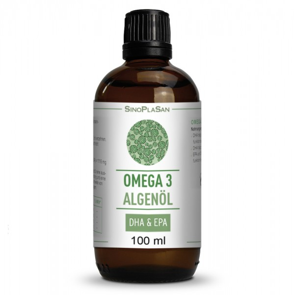 Omega 3 Algae Oil DHA + EPA 100ml