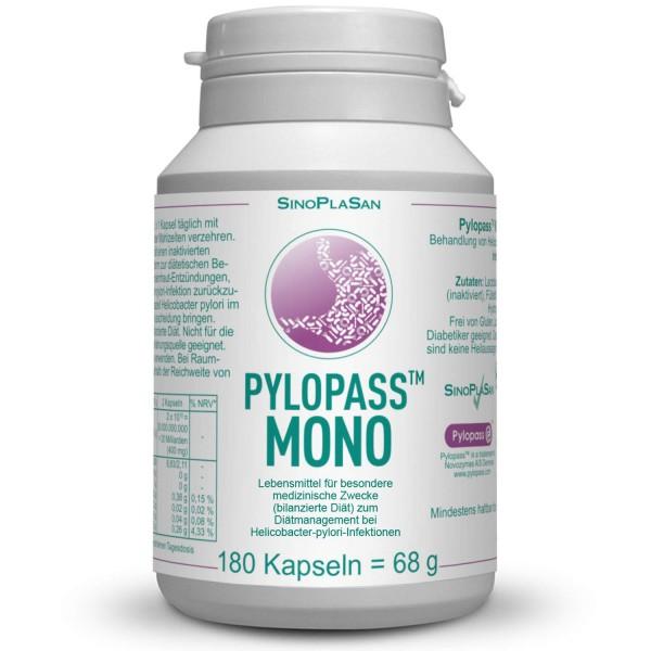 Pylopass MONO 180 Capsules for H. pylori