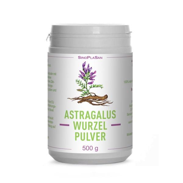 Astragalus-Wurzel-Pulver 500g 100% naturrein