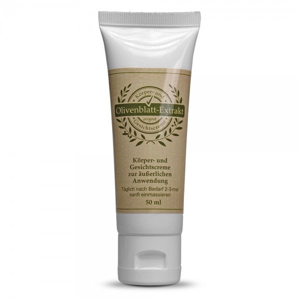 Olive Leaf Extact CREAM 50ml tube