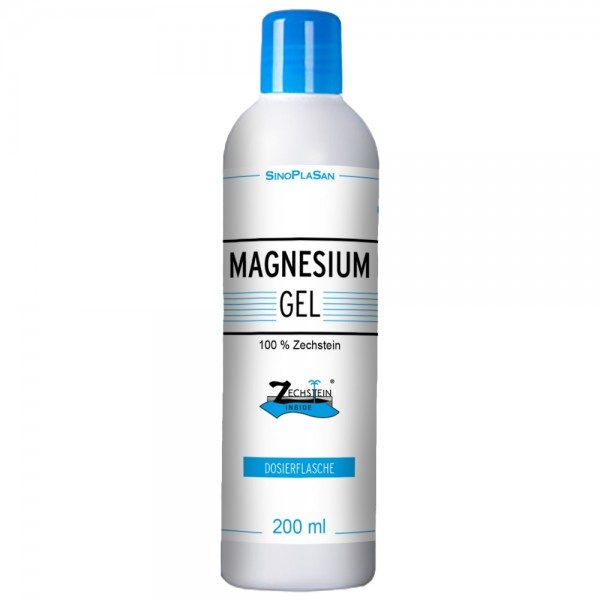 Magnesium-Gel 200 ml Dosage Bottle