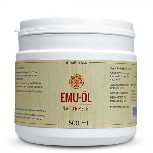 Emu Oil 500ml Can 100% pure