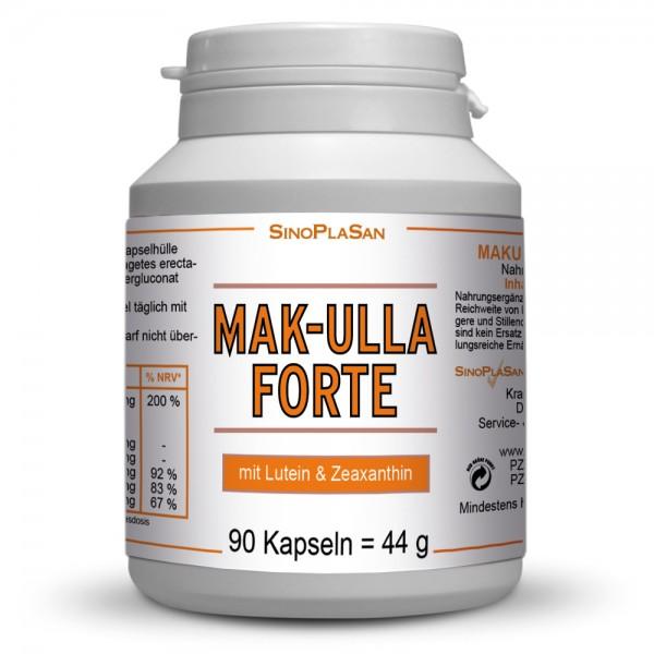 Mak-ulla Forte Zeaxanthin/Lutein Kapseln