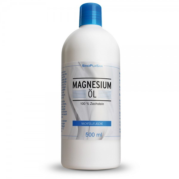 Magnesium Oil 500ml refill bottle