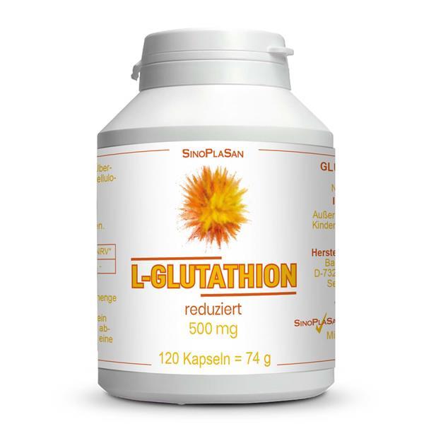 L-Glutathion reduziert 500 mg MONO 120 Kapseln