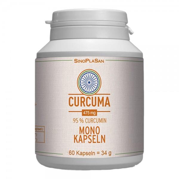 Curcuma Kapseln mit 95% Curcumin 60 Stk