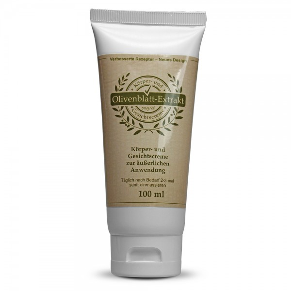 Olive Leaf Extact CREAM 100ml tube