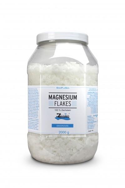 Magnesium Flakes 2000g 100 % Zechstein