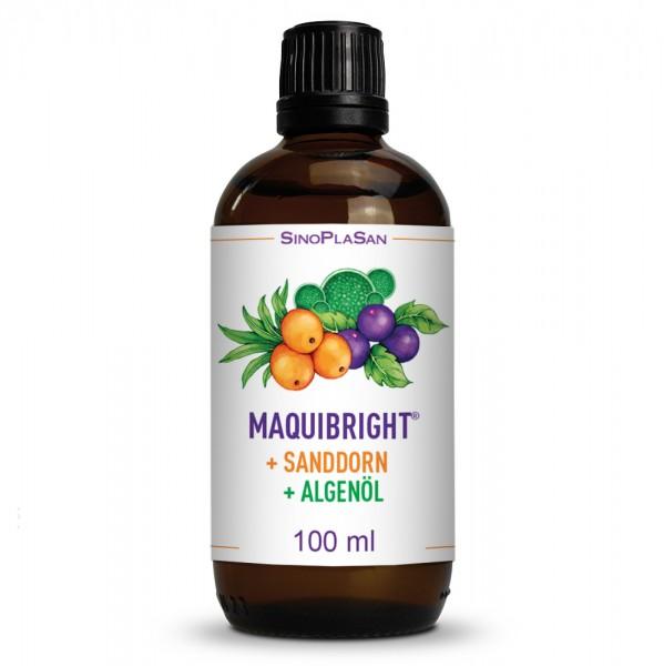 Maquibright + Sanddorn + Algenöl 100 ml